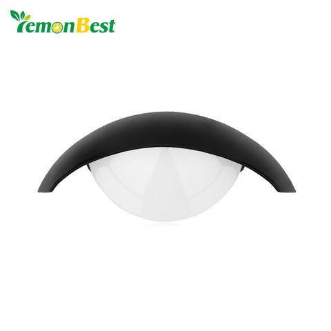 LemonBest 5W Home Lighting Moon Shape LED Wall Light