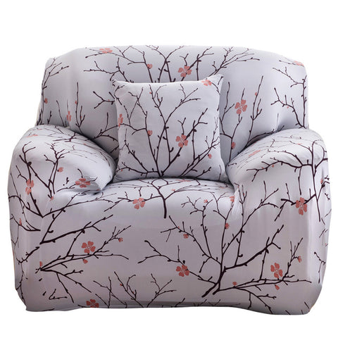 Fashion Sofa Cover Printed Stretch Furniture Covers Cloth Art Flexible Spandex Slipcover Dustproof Washable
