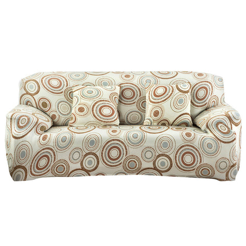 Printing Sofa Furniture Cover Slipcover Big Stretch Elastic Sofa Cover Case Slipcover All-inclusive Furniture Cover