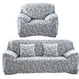 Spandex Stretch Sofa Cover Flower Printed Art Sectional Slipcover Sofa Furniture Cover for Home/office/hotel