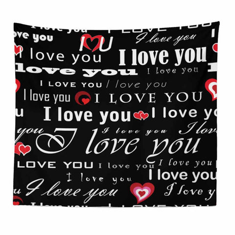 Ouneed Valentine print Tapestry wall hanging art decoration love Tapestry 150X120cm u71213