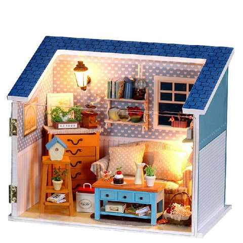 Diy Model Whisper Dollhouse and Furniture Set