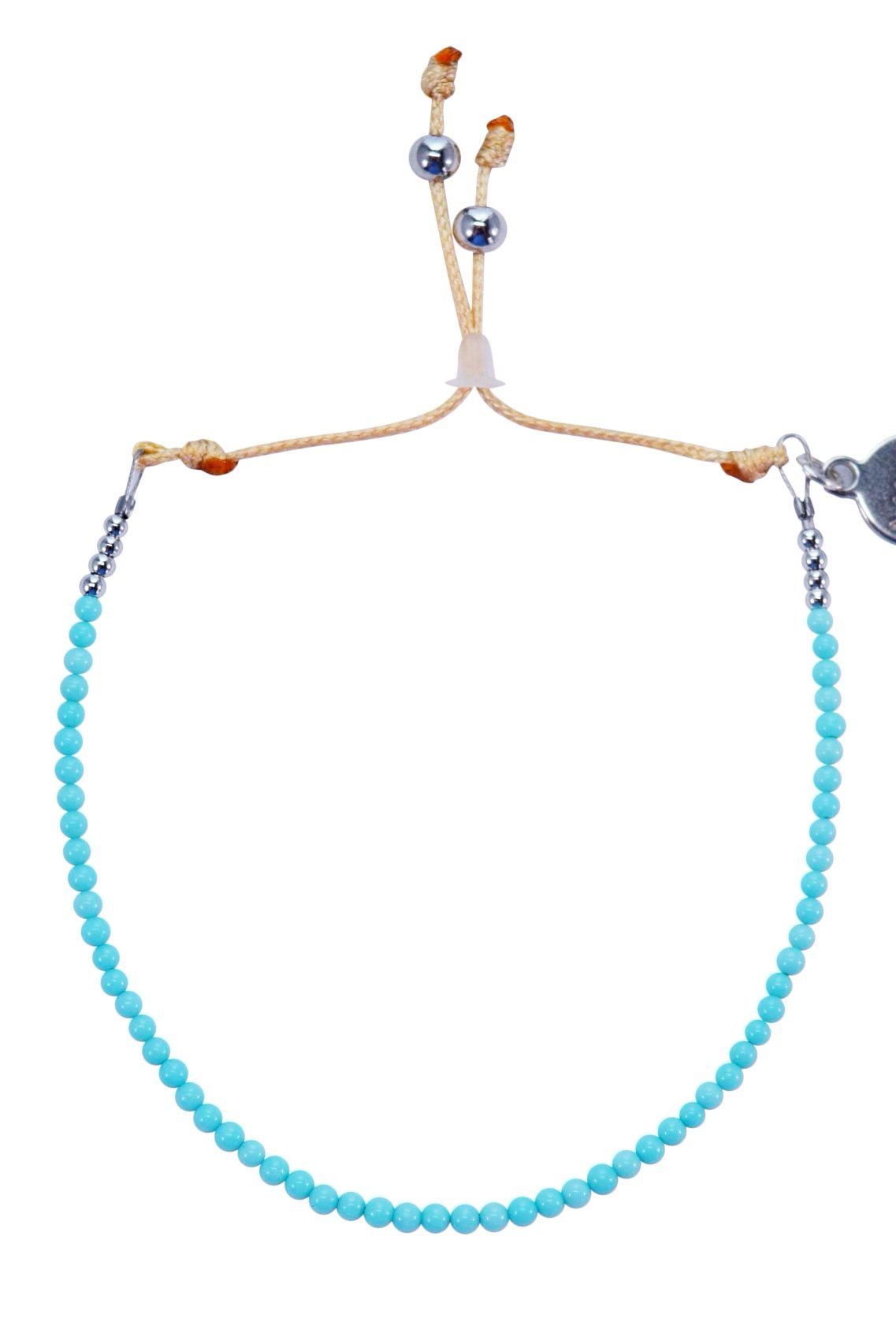 Natural Turquoise Perlina Bracelet