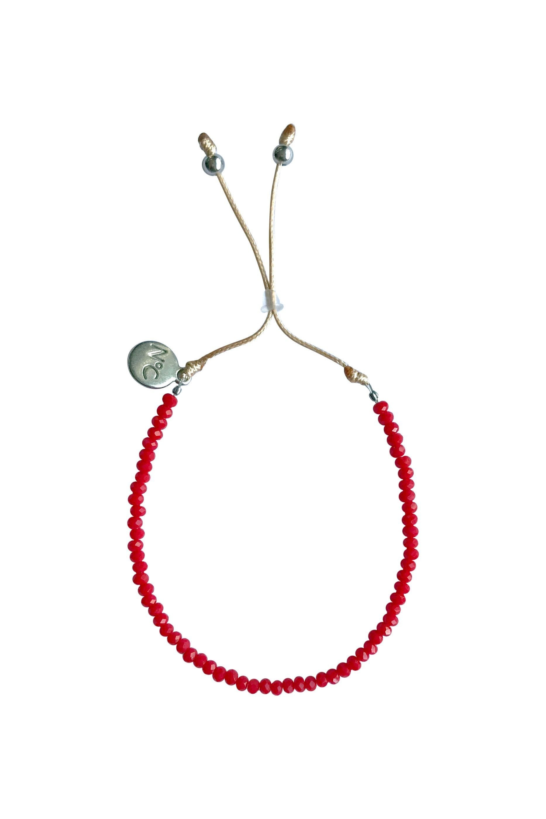 Red Perlina Bracelet