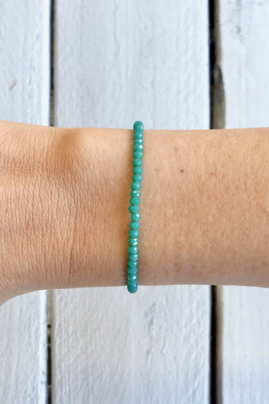 Teal Perlina Bracelet
