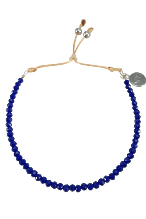 Navy Perlina Bracelet