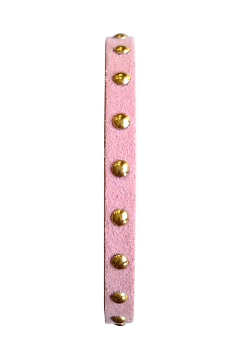 Gold Studded Rose Banded Bracelet