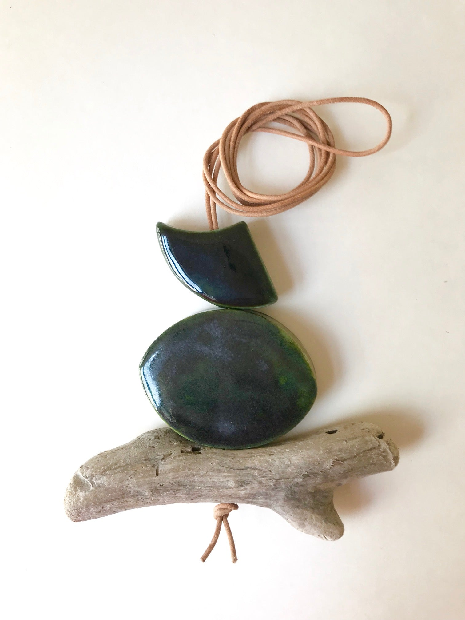 the hepworth // one of a kind sculptural necklace