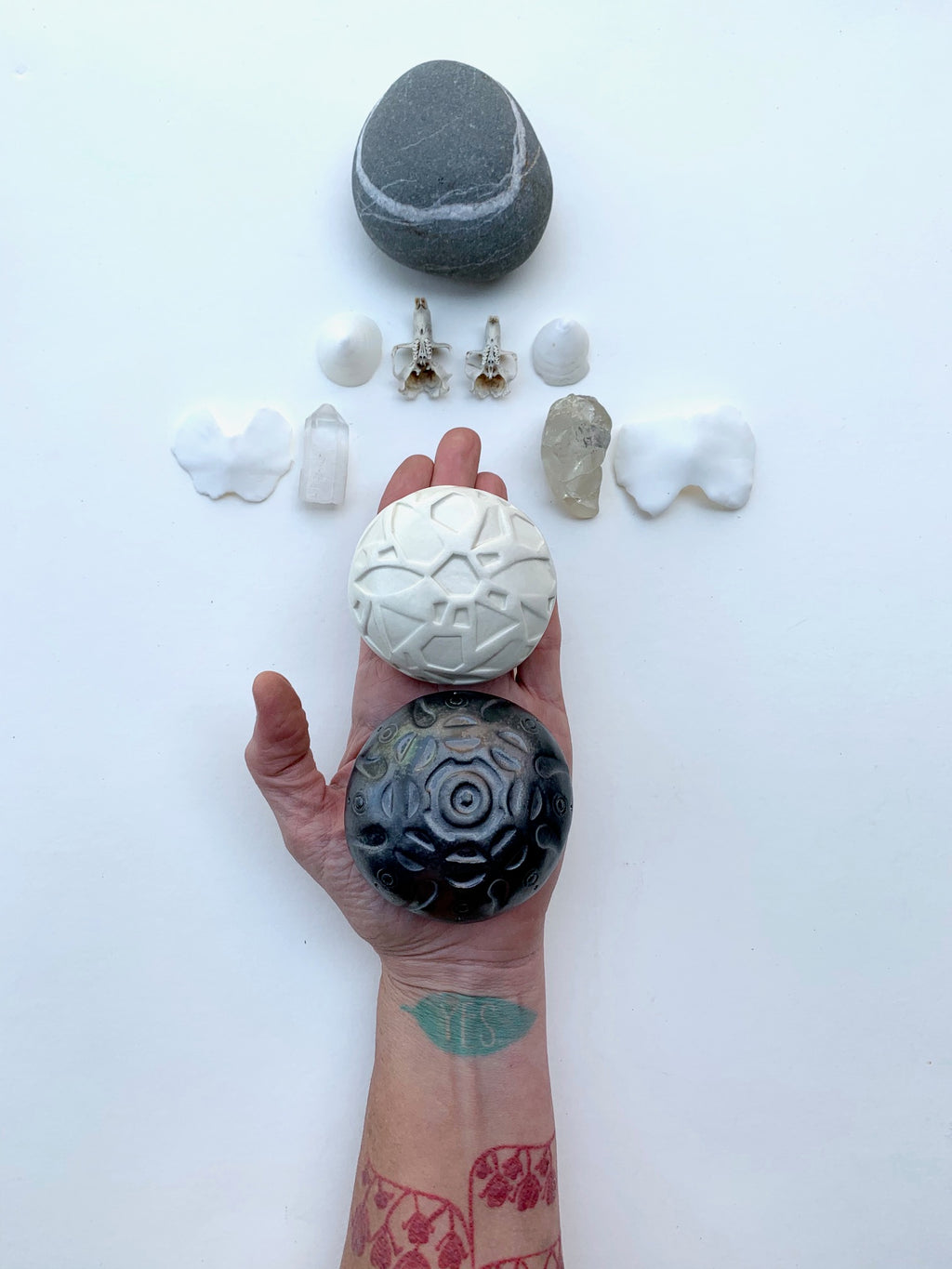 sold - meditation sculptures / one of a kind ceramic pieces for sacred spaces