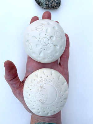 meditation stones / one of a kind ceramic sculptures for sacred spaces