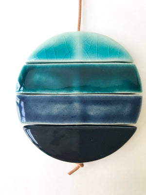 'salt & dust' ceramic wall hanging