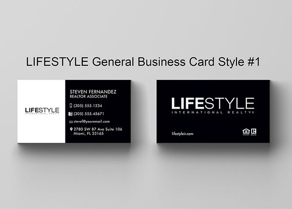 Business cards 16pt uv coated or matte finish lifestyle realty business cards 16pt uv coated or matte finish colourmoves