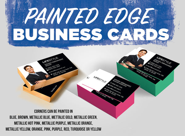 Business cards 32pt painted edge lifestyle realty marketing business cards 32pt painted edge colourmoves Gallery