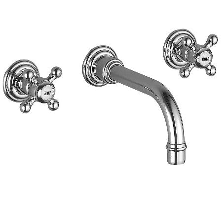 Dornbracht 36712361-090010 Madison Wall-mounted lavatory faucet ...