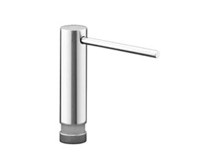 Dornbracht 82426970-08 TARA ULTRA Deck Mounted Liquid Soap Dispenser Without Flange, Platinum