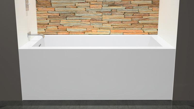 Wetstyle Cube Collection BC11 Soaker Tub 60\