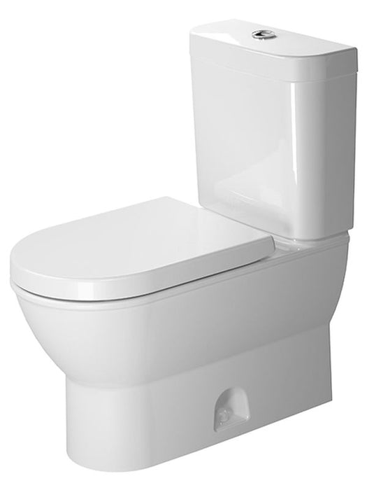 Duravit 2126010000 Darling New Two-Piece toilet Darling New White Siphon Jet , Elongated , HET