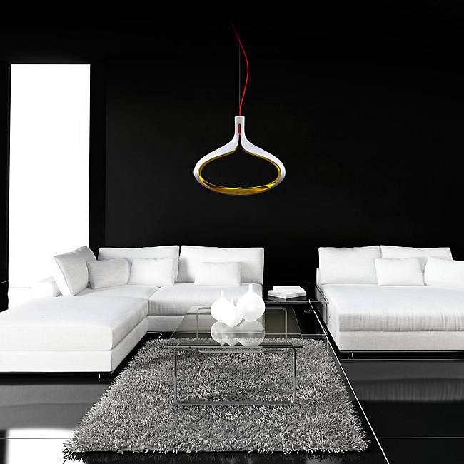 Alma MDS531122 Modiss LED Pendant, Gold Red