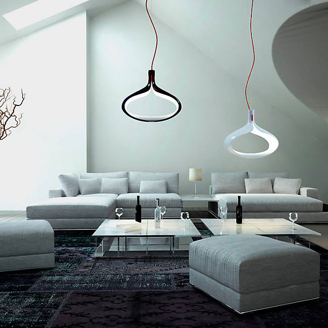 Alma MDS531121 Modiss LED Pendant, White Red