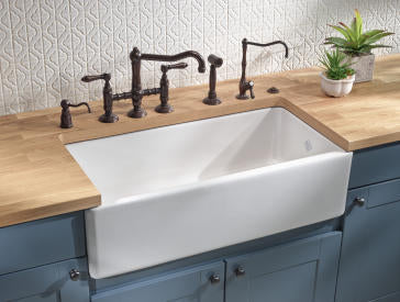 Rohl Shaws RC3618 Fireclay Kitchen Sink 36\