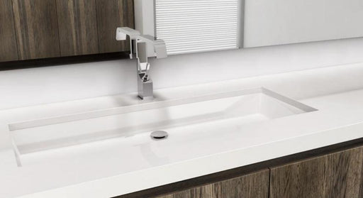 "WETSTYLE VC836U CUBE COLLECTION UNDERMOUNT SINK VC836U 36"" L x 15"" W x 4"" H"