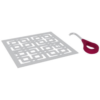 Rohl DC3142 Weave Decorative Shower Drain Cover