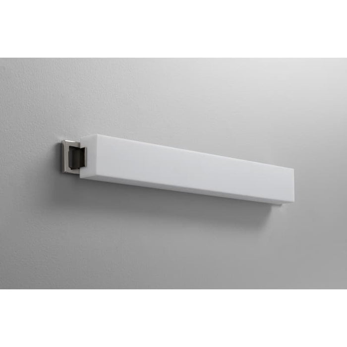 "Oxygen Lighting 37-552-20 Polished Nickel Single Light 29"" Wide Integrated LED Bath Bar - ADA Compliant"