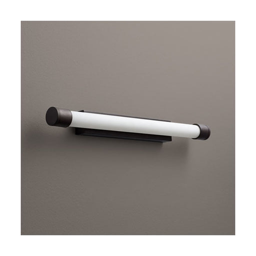 "Oxygen Lighting 37-557-22 Oiled Bronze Single Light 24-1/4"" Wide Integrated LED Bath Bar - ADA Compliant"