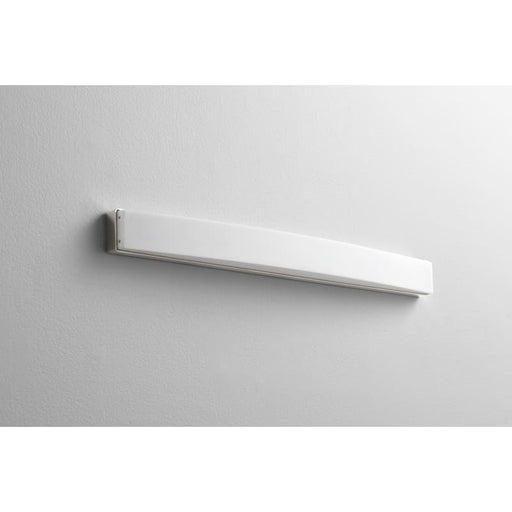 "Oxygen Lighting 37-575-20 Polished Nickel Single Light 26-3/4"" Wide Integrated LED Bath Bar - ADA Compliant"