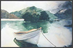 """Lone Boat"" ~ From A Private Collection"