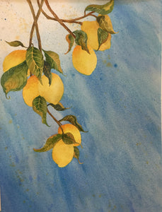 """Lemon Drops"" Giclée Prints ~ Larger Size"