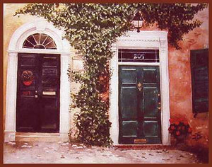 """Old Town Doors"" ~ From A Private Collection"