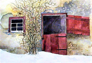 """Barn Door"" Giclée Prints ~ Larger Size"