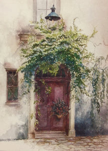 """European Doorway"" ~ From The Artist's Collection"