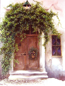 """European Door"" Giclée Prints ~ Smaller Size"