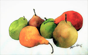 """Floating Pears"" Giclée Prints ~ One Size"