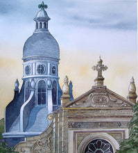 """Saint Vincent des Bois"" Original Watercolor"