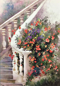 """Stairway in Paris"" ~ From a Private Collection"