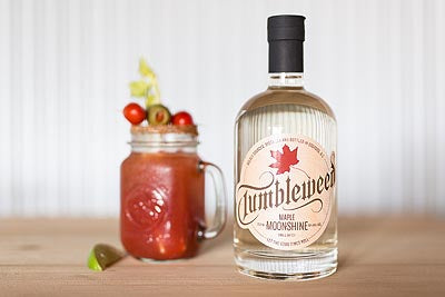 Try a Tumbleweed Maple Moonshine Caesar