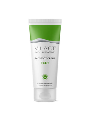 Vilact | 24/7 Foot Cream with Lactoactive® by Vilact® (3.38 FL.OZ / 100ml)