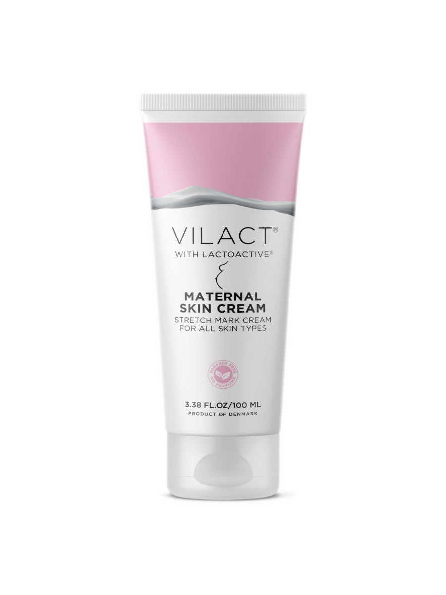 Vilact | Maternal Skin Cream for Stretch Marks on All Skin Types with Lactoactive® by Vilact® (3.38 FL.OZ / 100ml)