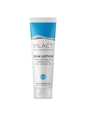Vilact | SKIN LOTION WITH ALMOND OIL, JOJOBA OIL, SHEA BUTTER, AND LACTOACTIVE® BY VILACT® (4.2 FL.OZ / 125ML)