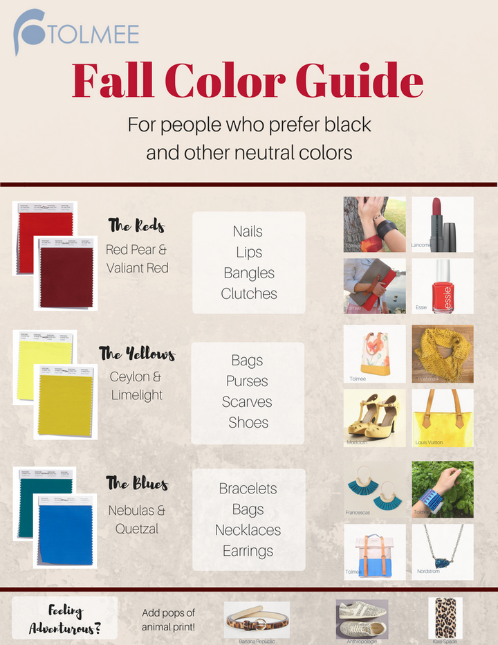 Fall Color Guide (For People Who Prefer Black)