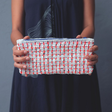 Sustainably Handmade & Vegan Pouch Bag