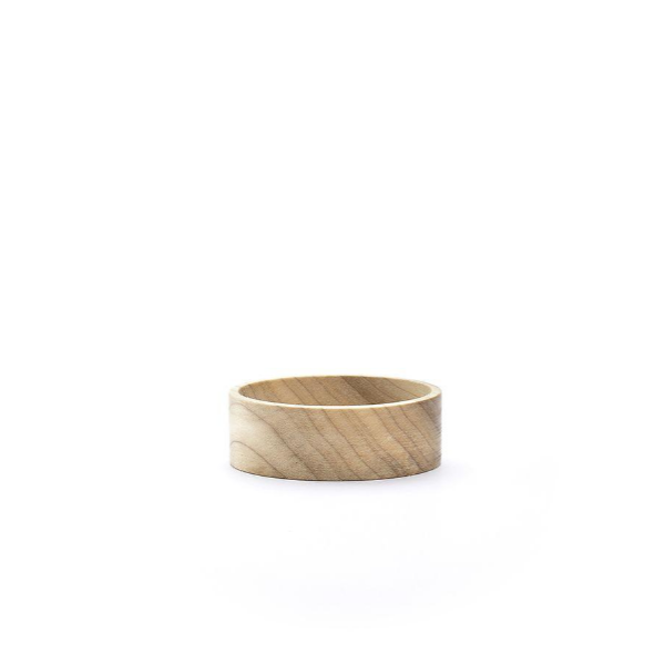 Handmade wooden bracelets inspired by nature