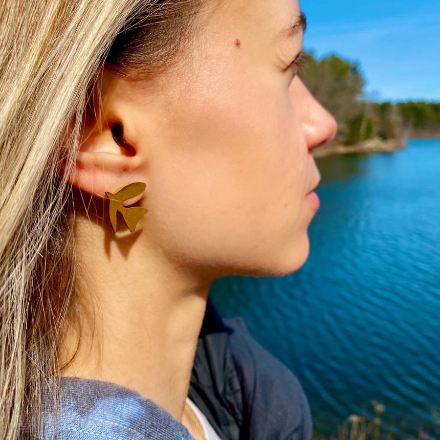Fly Like a Bird Earrings
