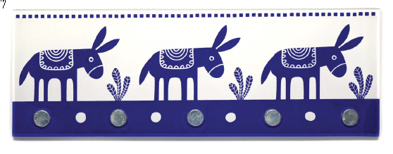 Three Little Donkey's Wall Decor