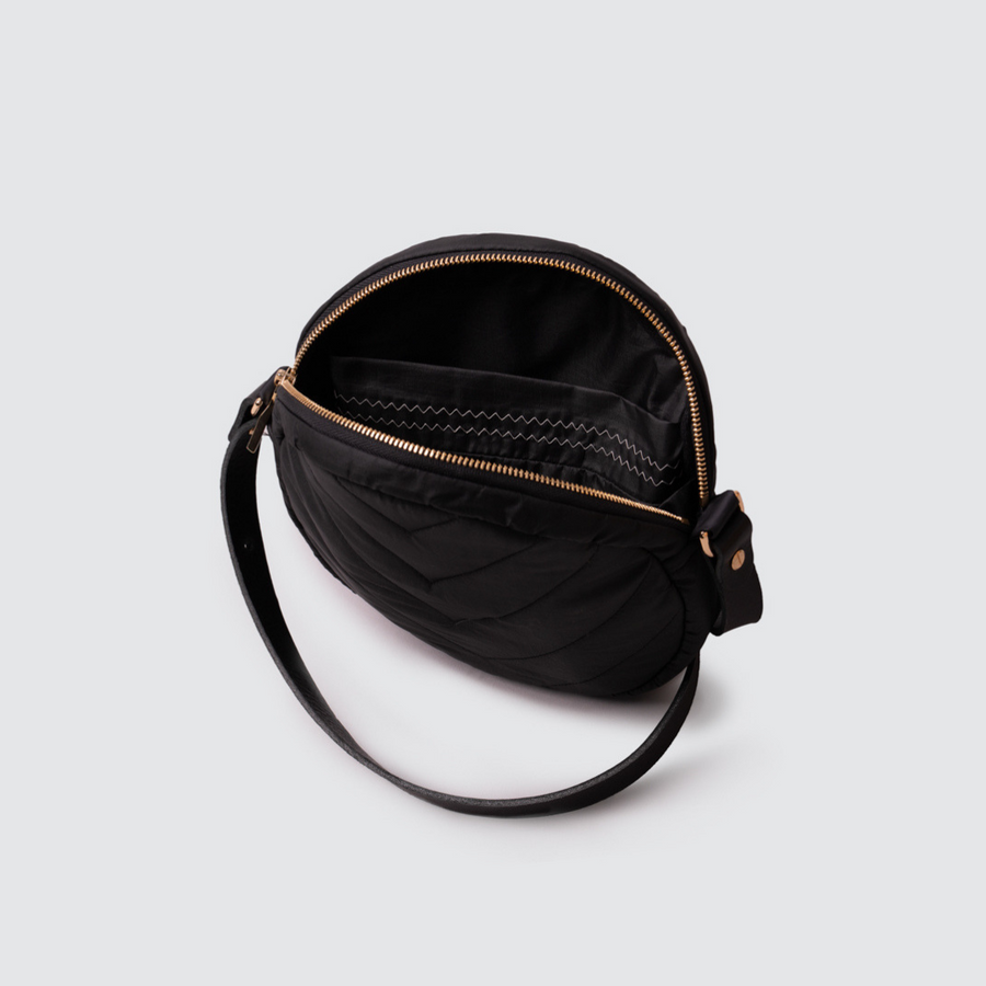Sustainably Handmade Cross-body Canteen Bag