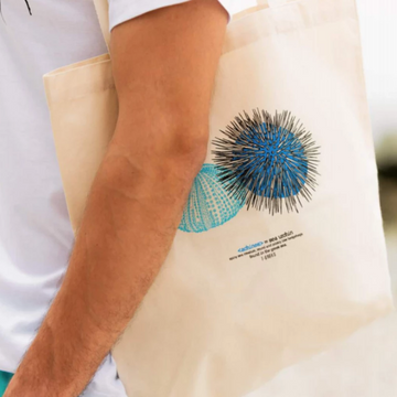 Sea Urchin (Achinos) Canvas Tote Bag