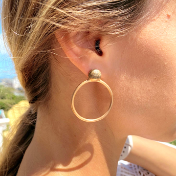Ye-ah Hoop Earrings